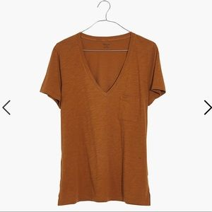 Madewell Women's Whisper Cotton V-Neck Tee